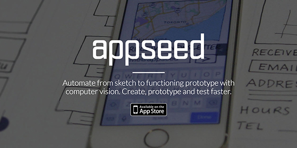 AppSeed is a sketch to prototype mobile application